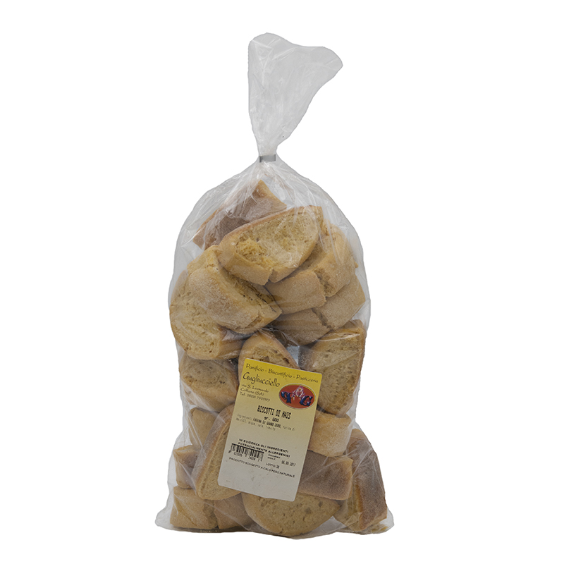 Biscotti di Mais Gugliucciello Gusto Sele