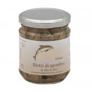 Filetto di Sgombro in olio di Oliva Cetara Delfino Gusto Sele