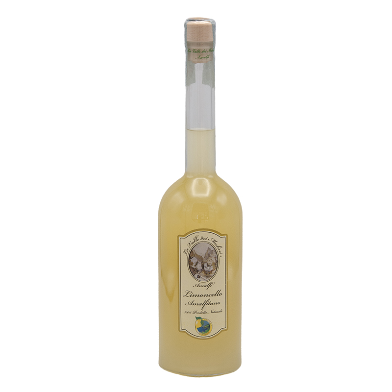 Limoncello Amalfitano Costa D'Amalfi I.G.P Lemon trade Gusto Sele