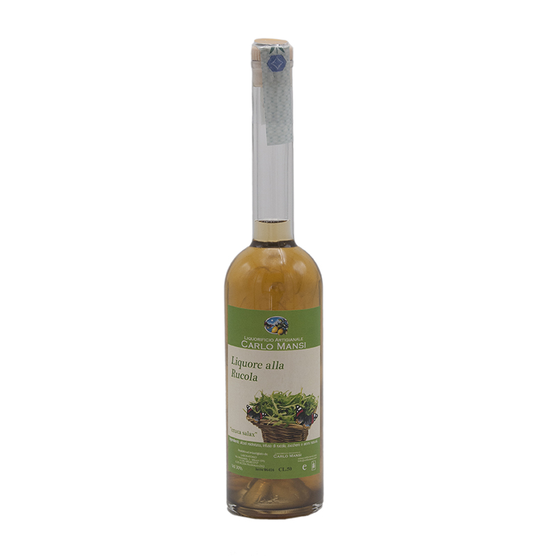 Liquore alla Rucola Carlo Mansi Gusto Sele