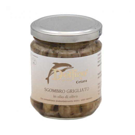 Sgombro grigliato in olio di oliva Cetara Delfino Gusto Sele