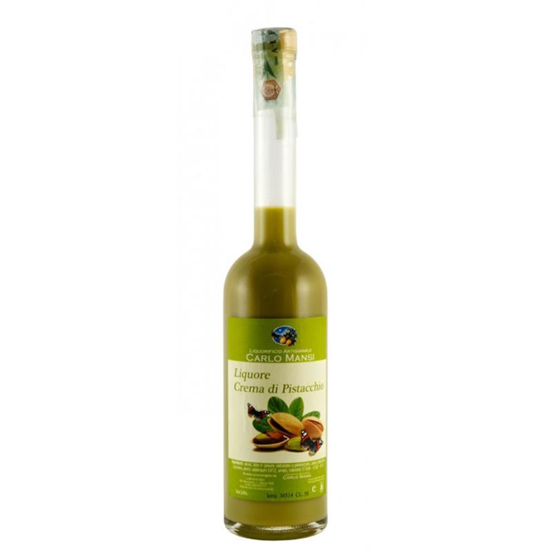 liquore alla crema di pistacchio di Bronte Carlo mansi Gusto Sele