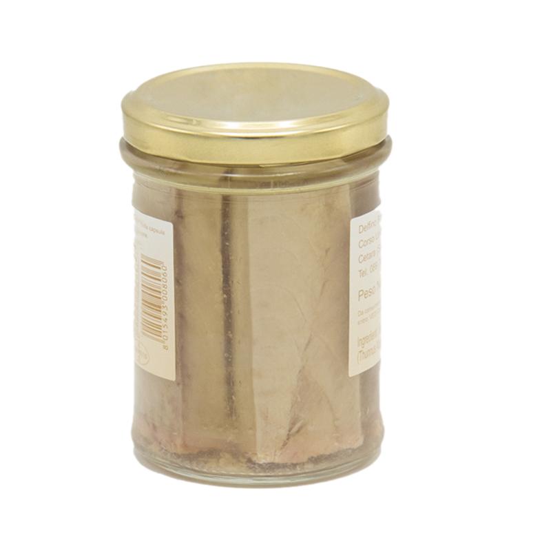 Filetti di tonno all'olio di oliva Delfino Gusto Sele2
