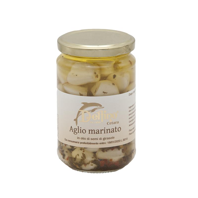 aglio marinato gusto sele