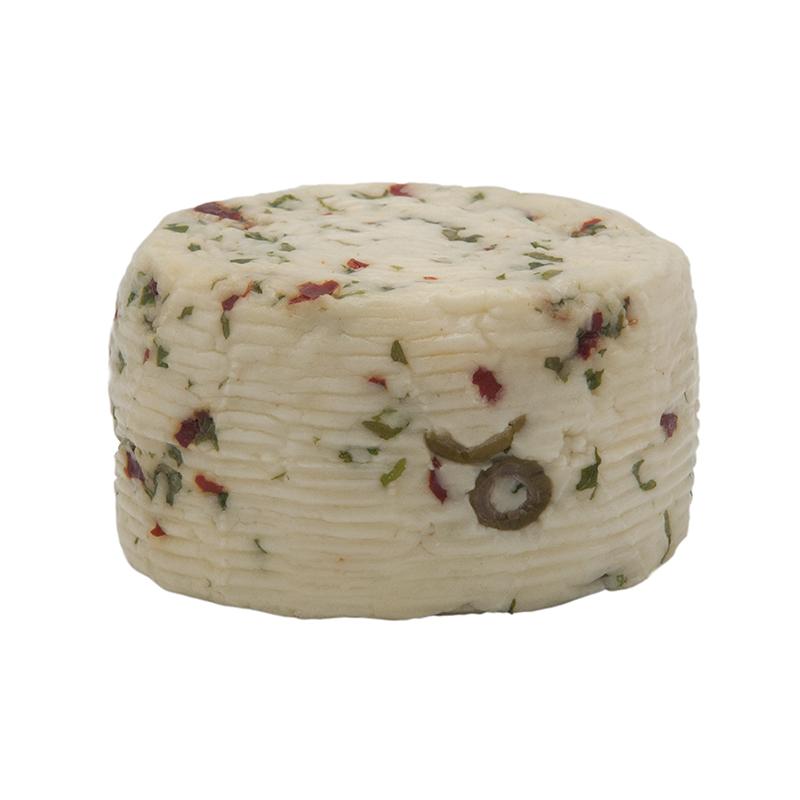 formaggio di pecora fresco rucola, olive, e piccante gusto sele