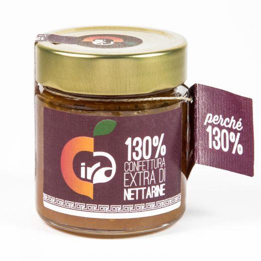 confettura extra di nettarine 130% Cira Salimbene Gusto Sele