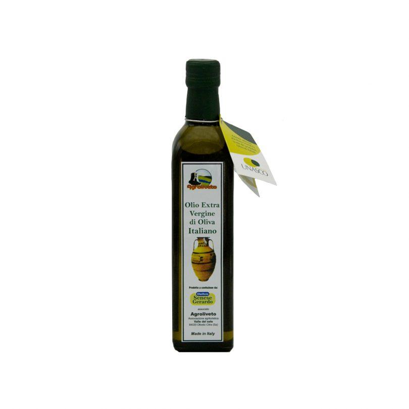 Olio Extra Vergine di Oliva Italiano agrooliveto Gusto Sele