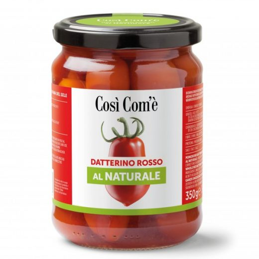 Datterino rosso naturale 350g Gusto Sele